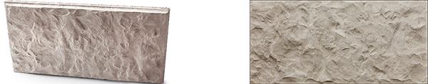 Фасадная фактура блока Балканский камень