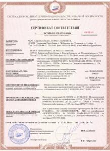 Пожарный сертификат на керамзитоблоки