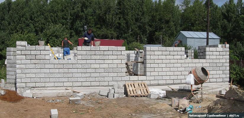 Строительство дома из тепоблоков