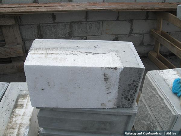 Наружный угловой теплоблок